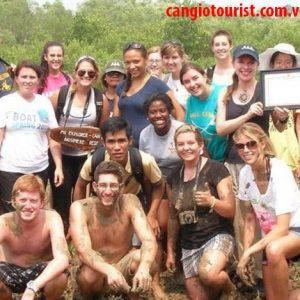 Tour du lịch rừng ngập mặn Vàm Sát Cần Giờ 1 ngày