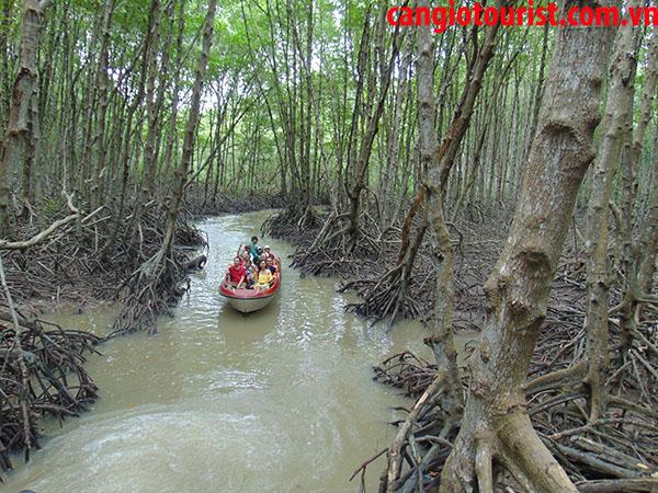 du lịch sông nước tại Cần Giờ - Vũng Tàu