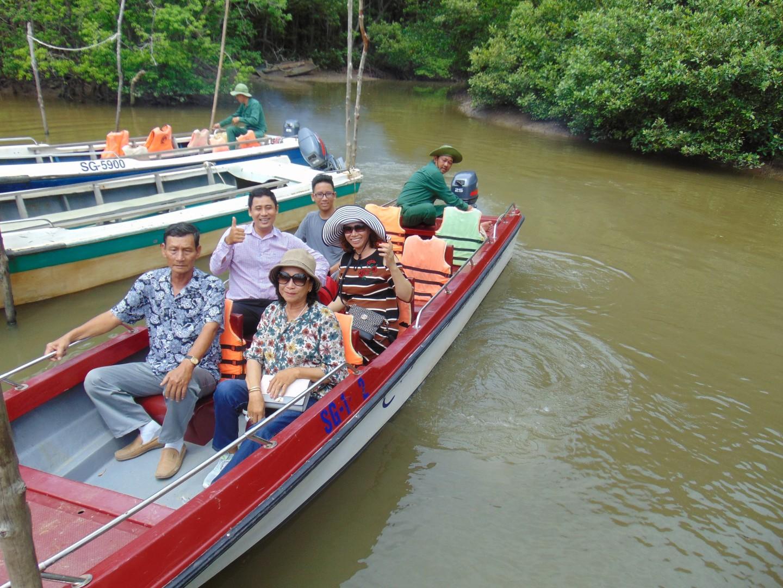 Tour Tham Quan Chiến Khu Rừng Sác