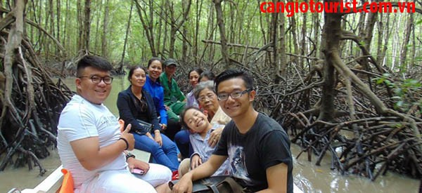 Tham quan 01 ngày khám phá rừng ngập mặn Cần Giờ